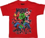 Avengers My Team Juvenile T Shirt
