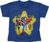 Avengers Star Heather Blue Toddler T Shirt