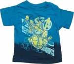 Avengers Team Blue Dip Infant T Shirt
