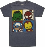 Avengers Toys Quad Blue T Shirt Sheer