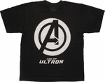 Avengers Ultron Varsity Logo Youth T-Shirt