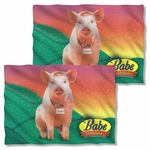 Babe Sitting Pig FB Pillow Case