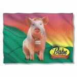 Babe Sitting Pig Pillow Case