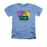 Back to the Future 2 Cafe 80s Heather T Shirt