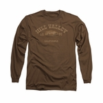 Back to the Future 3 HV 1885 Long Sleeve T Shirt