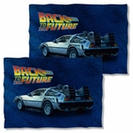 Back to the Future Delorean FB Pillow Case