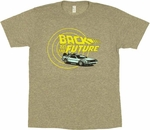 Back to the Future DeLorean T Shirt Sheer