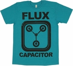 Back to the Future Flux T Shirt Sheer