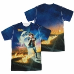 Back to the Future Poster FB Sublimated T Shirt