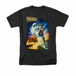 Back to the Future Poster T Shirt