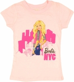 Barbie Look Back NYC Youth Girls T Shirt