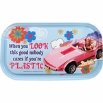 Barbie Look Good Magnetic Tin Sign