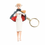 Barbie Nurse Keychain