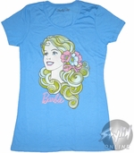 Barbie Swirly Hair Baby Tee