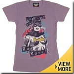 Batgirl Junk Food Girls Shirt