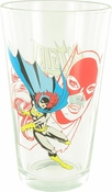 Batgirl Two View Pint Glass
