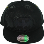 Batman Black Oval Logo Hat