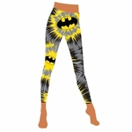 Batman Burst Footless Tights