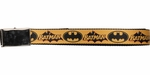 Batman Caped Crusader Logos Mesh Belt