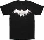 Batman City In Logo T Shirt