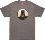 Batman Cityscape Head T Shirt