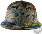 Batman Comic Collage Hat