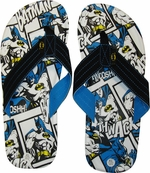 Batman Comic Sandals