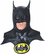 Batman Cowl Full Head Costume Mask