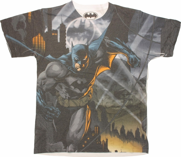 Batman Dark Knight Sublimated T Shirt Sheer