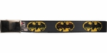 Batman Distressed Logo Mesh Belt