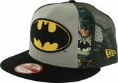 Batman Dye Slice Mesh 9FIFTY Hat