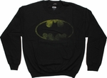 Batman Faded Logo Sweatshirt