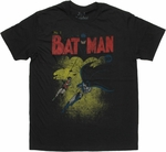 Batman First Cover T Shirt Sheer