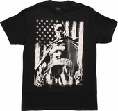 Batman Flag Stance T-Shirt