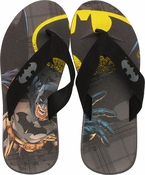 Batman Flying Reach Sandals