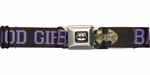 Batman Good Girls Bad Boys Seatbelt Belt