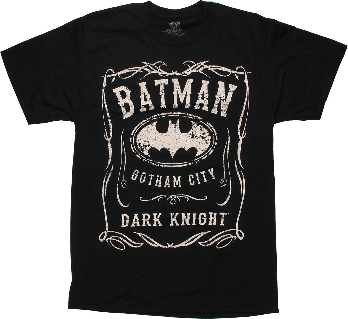 Printed batman costume shirt with eye mask and removable hooded cape. Popfunk Batman Logo Distressed Vintage DC Comics T Shirt & Exclusive Stickers. by Popfunk. $ - $ $ 18 $ 24 30 Prime. FREE Shipping on eligible orders. Some sizes are Prime eligible. out of 5 stars