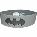 Batman Gray Rubber Wristband