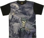 Batman Joker Pounce Sublimated T Shirt Sheer