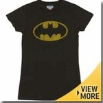 Batman Junk Food Girls Shirt
