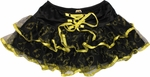 Batman Lace Up Tiered Tutu Skirt