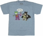 Batman Lego Joker Youth T Shirt