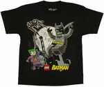 Batman Lego Joker Youth T-Shirt