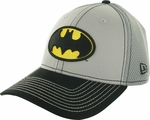 Batman Logo 2 Tone Mesh Back 39THIRTY Hat