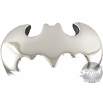 Batman Logo Chrome Ring