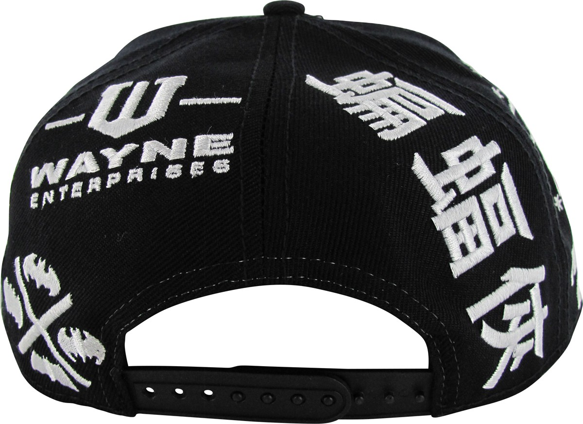 batman logo theme all snapback hat
