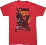 Batman McFarlane Cover Art T Shirt Sheer