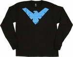 Batman Nightwing Long Sleeve T Shirt