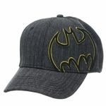 Batman Offset Logo Heather Hat