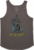 Batman Out All Night Tank Top